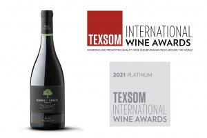 TEXSOM award for Idisma Drios Assyrtiko